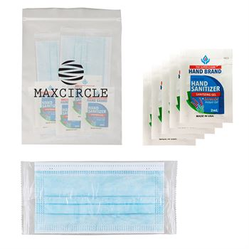 Value Gel Pack Kit With Mask - Personalization Available