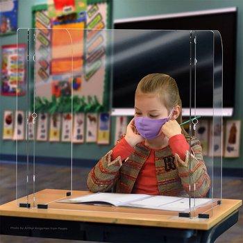 Tabletop Barrier Sneeze Guard 1/8