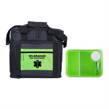 Colorful On The Go Lunch Kit-Personalization Available