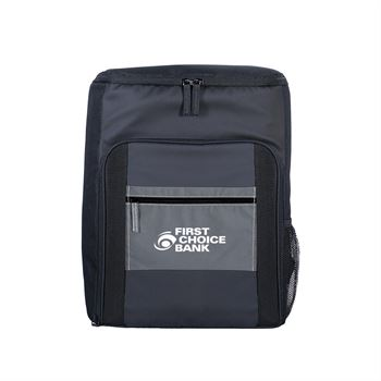 Reflective Pocket Cooler Backpack-Personalization Available