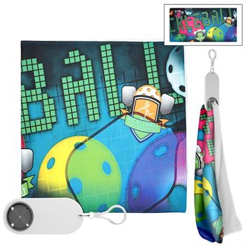 Full Color Cooling Cloth & Keychain-Personalization Available