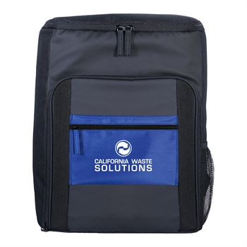 Colorful Pocket Cooler Backpack-Personalization Available