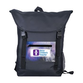 Full Color Pocket Strap Backpack-Personalization Available