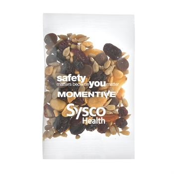 Healthy Promo Snax Bags(Energy Trail Mix 1-oz)-Personalization Available