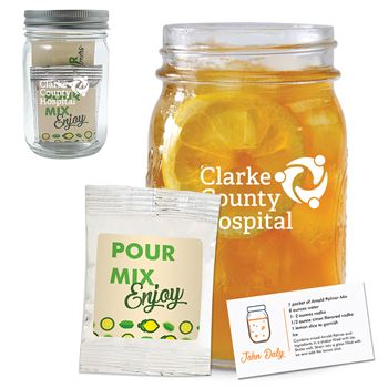 Arnold Palmer Kit In A Mason Jar-Personalization Available