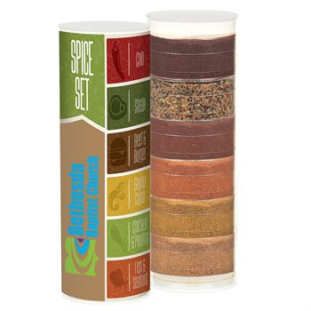 6 Way Spice Rub Set-Add your personalization