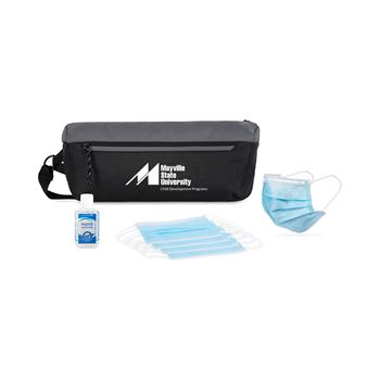 On the Move Single Use Face Masks (5 pack) PPE Kit- Personalization Available