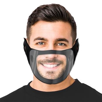 Face Mask With Clear Window