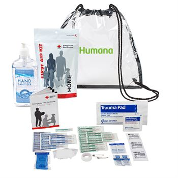 American Red Cross Home First Aid Zip Kit and Hand Sanitizer Bundle-�Personalization Available