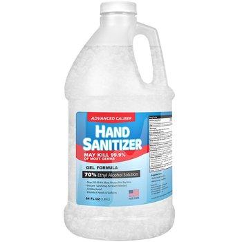 Advanced Caliber GEL Hand Sanitizer 64oz Bottle 70% Alcohol USA Made