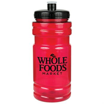 ID Translucent Water Bottle With Flip Top Lid 20-Oz. - Personalization Available