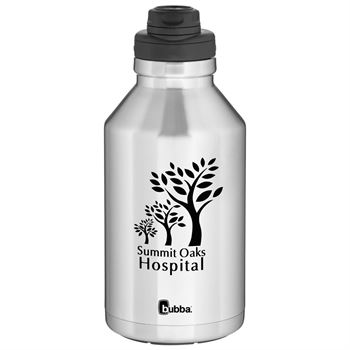 Double Wall Stainless Steel Thermal Bubba Growler 64 Oz.-Personalization Available
