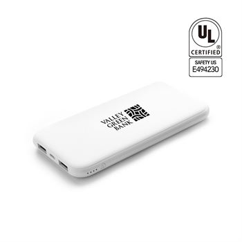 UL Certified 5,000 mAh Pocket Size Power Bank - Personalization Available