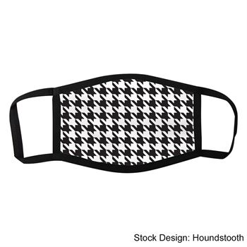 Custom Patterns Dye Sublimated 3-Layer Face Mask