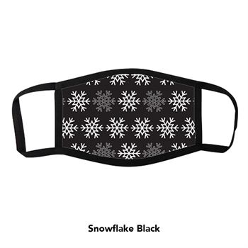Holiday Dye Sublimated 3-Layer Face Mask