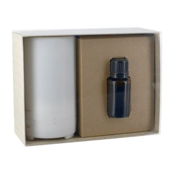 Electronic Diffuser & 15mL Dropper Bottle Essential Oil in Gift Box - Personalization Available