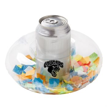 Inflatable Confetti Filled Coaster - Personalization Available