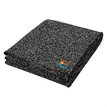 Heathered Fleece Blanket - Personalization Available