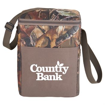 Hunt Valley 12-Can Camo Cooler - Personalization Available