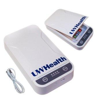 UV Phone Sanitizer/Sterilizer Box - Personalization Available