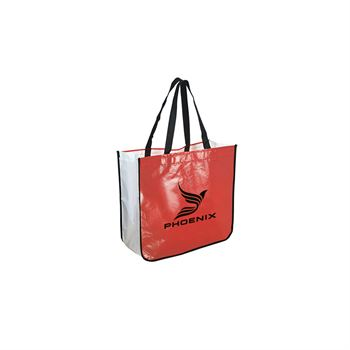 Extra Large Laminated Shopping Tote - Personalization Available
