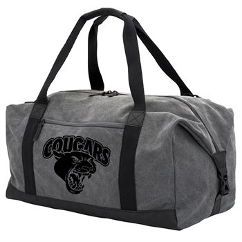 Colton Washed Canvas Duffel - Personalization Available