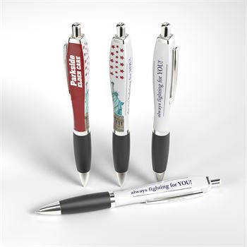 Election Pen - The Squared Basset Adpen - Personalization Available