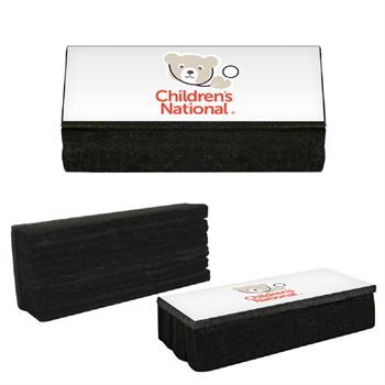 Multi-Purpose Felt Eraser-Dry Erase, Memo and Chalk Board - Personalization Available