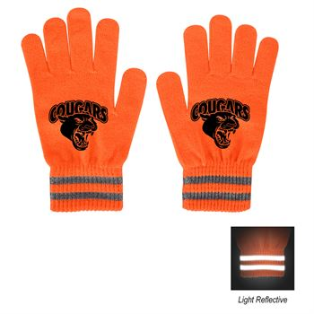 Reflective Safety Gloves-Personalization Available