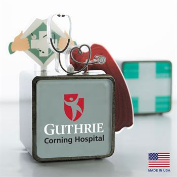 Hero Cube - Health Care - Personalization Available