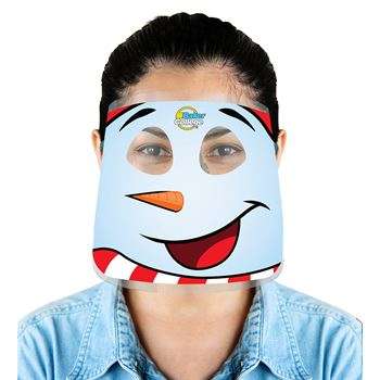 Fun Holiday Face Shields - Personalization Available