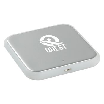 Freestyle Square Wireless Charging Pad - Personalization Available