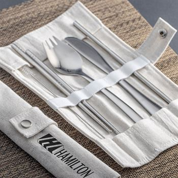Stainless Steel Utensil Set - Personalization Available
