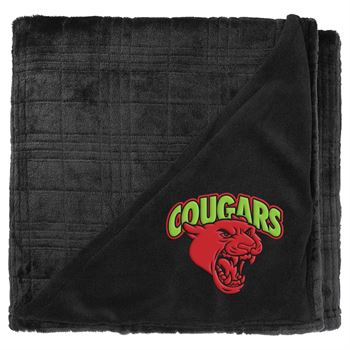 Luxury Comfort Flannel Fleece Blanket- Embroidery Personalization Available