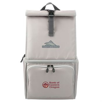 High Sierra 12 Can Backpack Cooler-Personalization Available