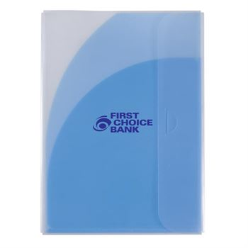Two-Pocket Folder with Tuck Closure - Personalization Available