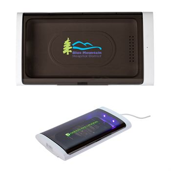 Defender UV Sanitizer Box And Charger - Personalization Available