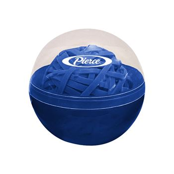 Rubber Band Ball in Case - Personalization Available
