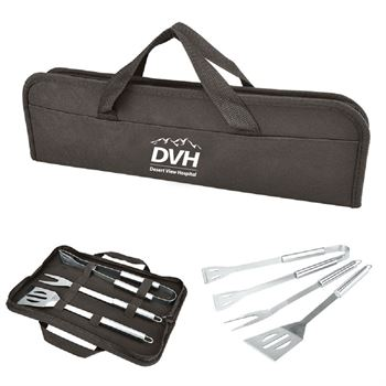 Budget 3 Pc. BBQ Set - Personalization Available