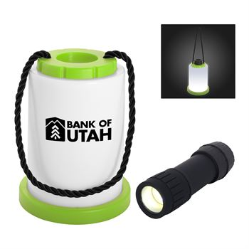 Rope Accent Lantern Flashlight - Personalization Available