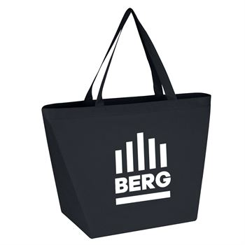 Non-Woven Budget Tote Bag with 100% Rpet Material- Personalization Available