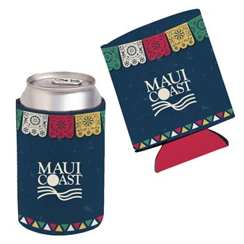 Collapsible Can Cooler - Full Color Personalization Available