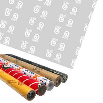 2.5' x 10' Wrapping Paper Roll - Full Color Personalization Available
