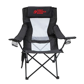 2-in-1 Mesh Adirondack Chair and Table- Personalization Available