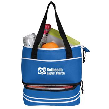 Dual Lunch Compartment Cooler- Personalization Available