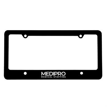 Classic License Frame with 4 Holes-Personalization Available