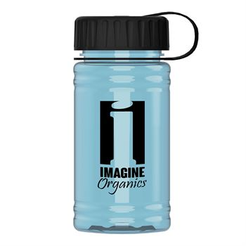 UpCycle Mini RPet Sports Bottle with Tethered Lid - 16 Oz.-Personalization Available