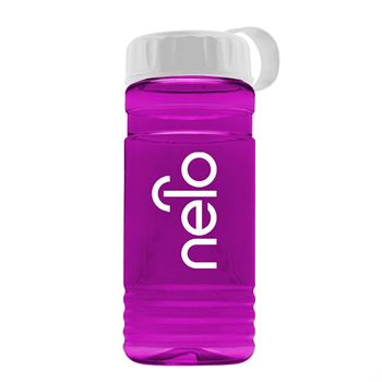 UpCycle RPET Bottle With Tethered Lid - 20 Oz.-Personalization Available
