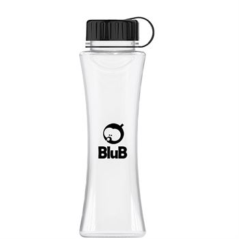 The Curve Tritan Bottle with Tethered Lid - 17 Oz.-Personalization Available