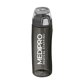 Thermos Hydration Bottle with Rotating Intake Meter 24 oz.-Personalization Available